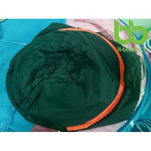 Lều xông hơi cá nhân (xanh rêu viền cam)
