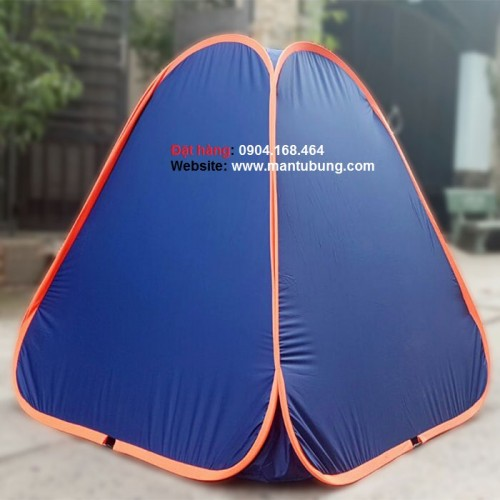 Lều xông hơi sau sinh giảm cân (xanh viền cam)