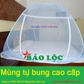 Màn chụp tự bung 2.2m hai cửa cao cấp Bảo Lộc